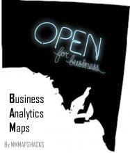 Business Analytics Map - data to decisions for policy and investment
