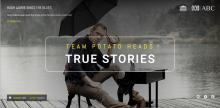 True Stories - live art homepages for your Chrome browser