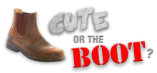Cute or the Boot logo