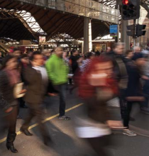 Melbourne pedestrian activity and safety