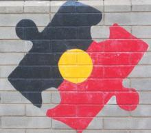 Indigenous flag puzzle