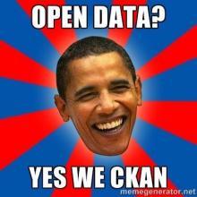Open data? YES WE CKAN!