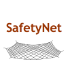 SafteyNet image of a net protecting the ground