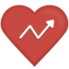 Heart with chart